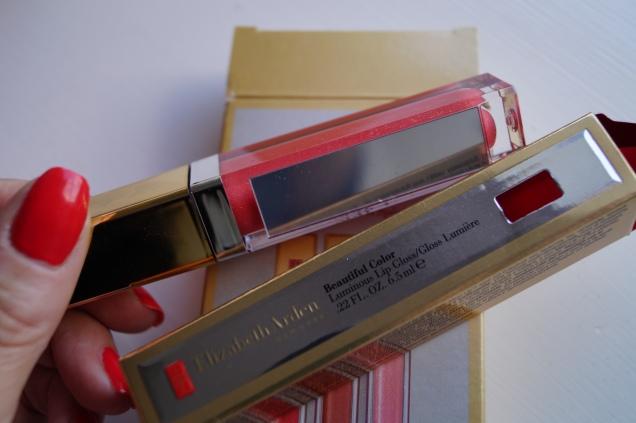 Praktisk spegel på lip gloss