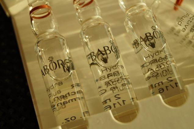 Glasampuller med koncentrat av