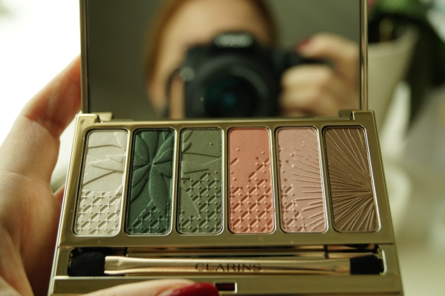 Clarins Garden Escape Eye Palette, limited edition