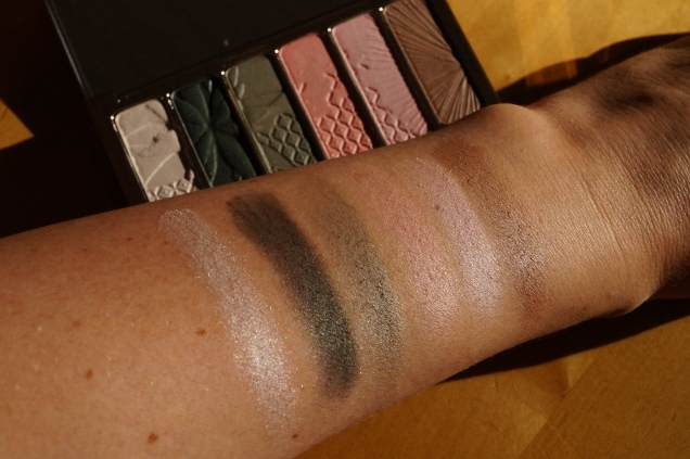 Swatches Clarins Garden Escape vår -15