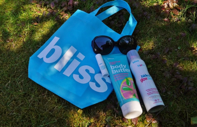 Min goodiebag med fullstor body butter, BUS och mini-mask.