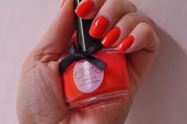 Ciaté, the glossip på mina korta naglar. Börjar om då och då för att variera längden.