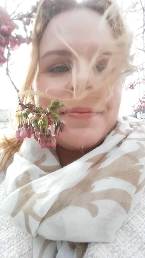 Vackra körsbärsblommor till er alla vackra läsare! :)